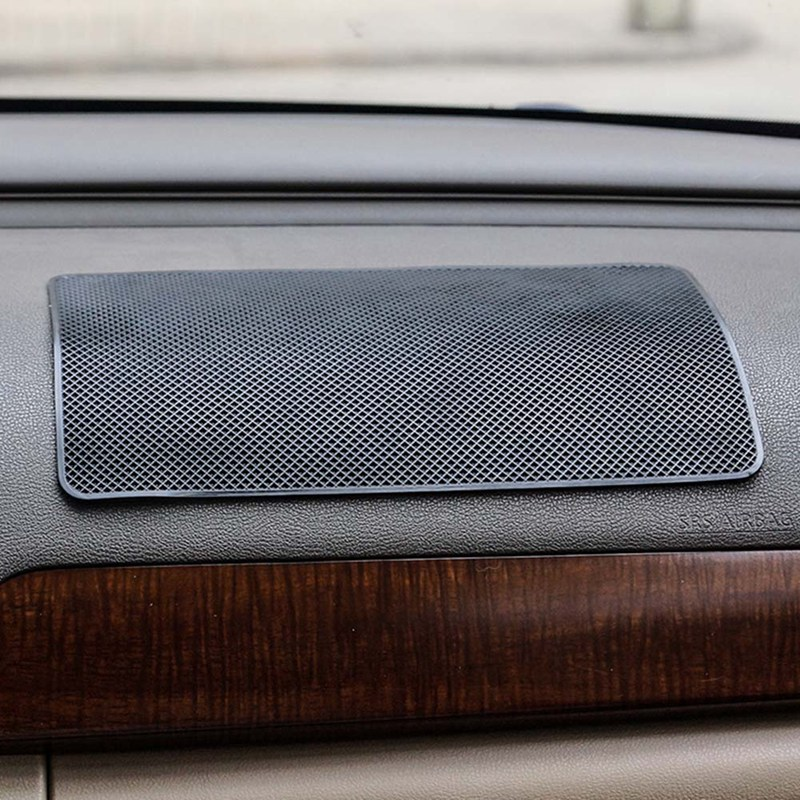 Image 4 - 1 pcs Silicone Car Anti Slip Mat Non Slip Pad Car Sticker Dash Mat Dashboard Pad For Phone Car interior decoration-in Anti-Slip Mat from Automobiles & Motorcycles
