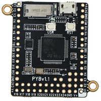 Hot MicroPython Pyboard V1.1 Programmazione Python Bordo di Sviluppo 4.2*3.3 centimetri