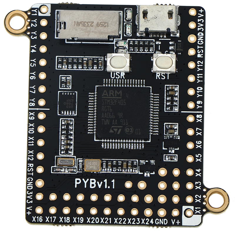 Hot MicroPython Pyboard V1.1 Python Programming Development Board 4.2*3.3cm
