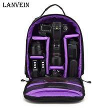 High quality Waterproof multi-functional Digital DSLR Camera Video Bag Rain Cover Small SLR Camera Bag for Photographer LANVEIN