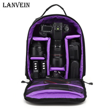 High quality Waterproof multi-functional Digital DSLR Camera Video Bag Rain Cover Small SLR Camera Bag for Photographer LANVEIN