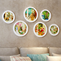 Composite wood photo frames wall decoration Photo wall decor beautiful picture frame wall