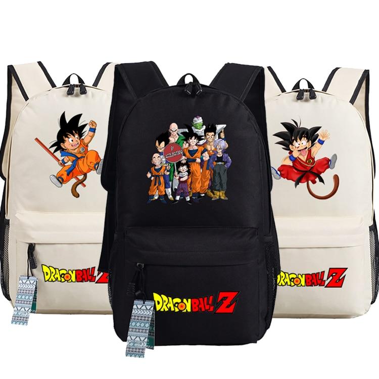 New Dragon Ball Z Backpack Anime Son Goku oxford Schoolbags Fashion Unisex Travel BagNew Dragon Ball Z Backpack Anime Son Goku oxford Schoolbags Fashion Unisex Travel Bag