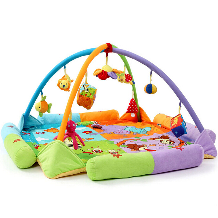 Baby Floor Toys : Educational baby toys play gym large big mat infant floor