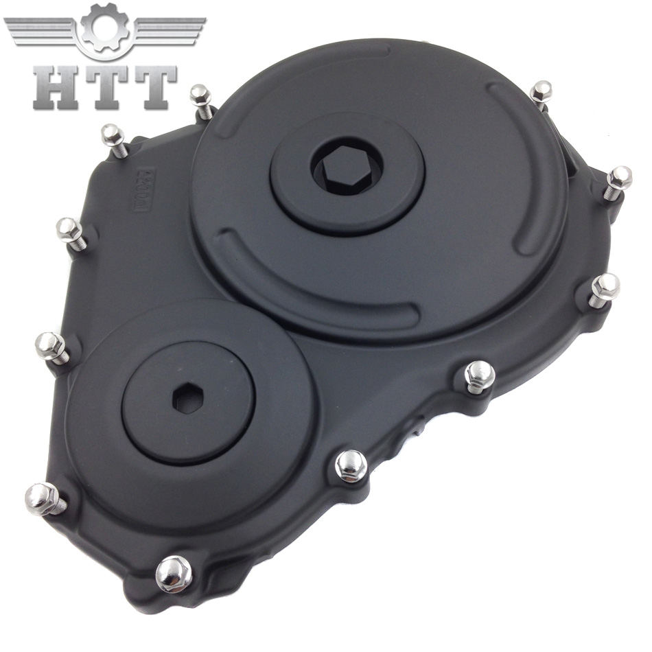 Aftermarket free shipping motorcycle parts Black replacement engine clutch cover for Suzu GSXR 600 750 2006-2009 aftermarket free shipping motorcycle parts for motorcycle honda cbr1000rr 2004 2007 04 07 engine clutch cover black right