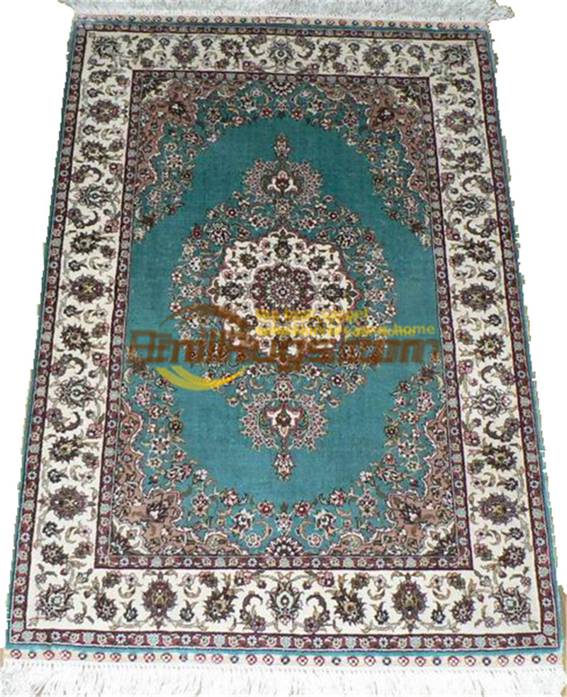 Laine ou soie persan Folk Antique décor pour salon laine tapis tapis Style sud-ouest tapis - 5