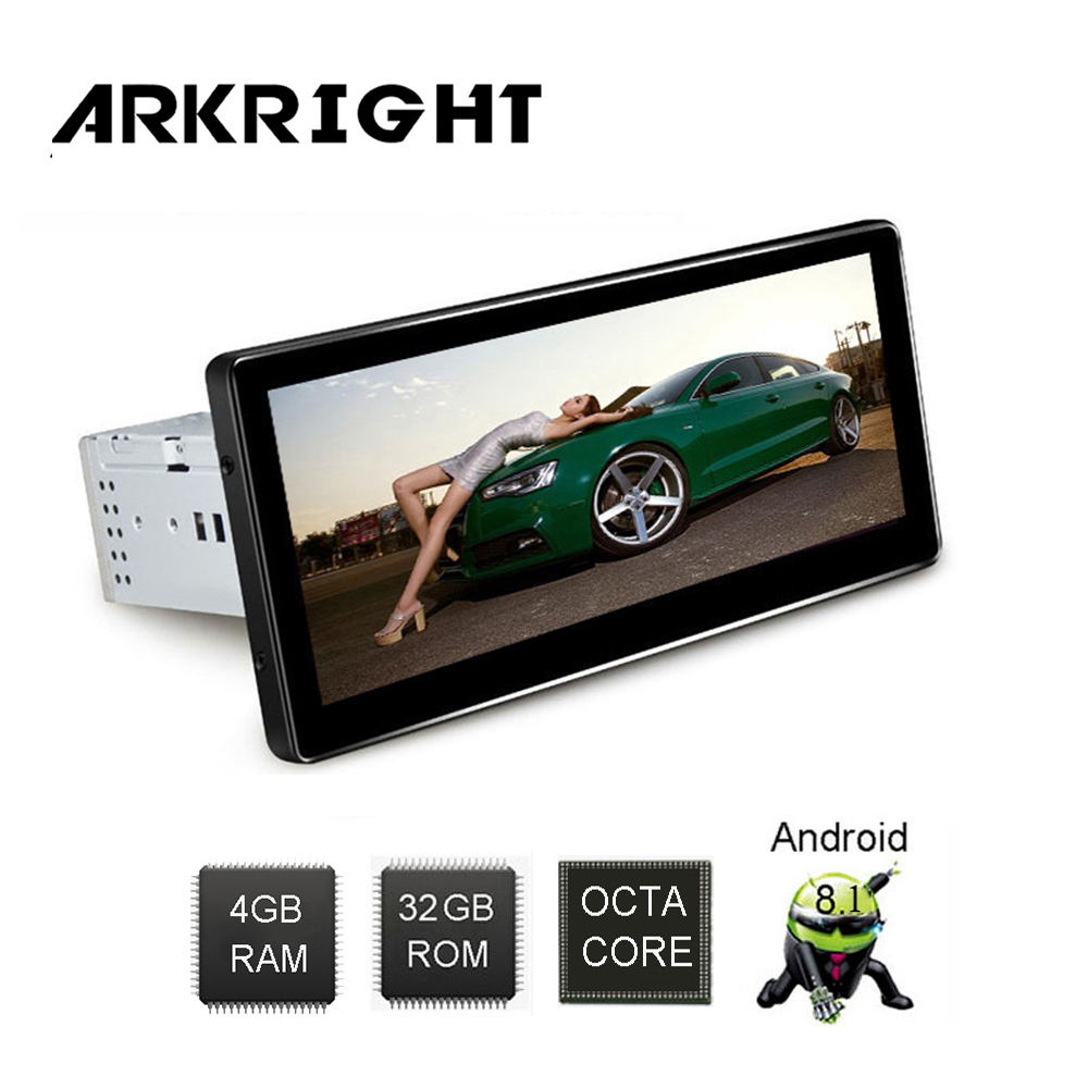 ARKRIGHT 8 8 1 Din Car Radio 4 32GB HU Octa Core SC9853 Android 8 1