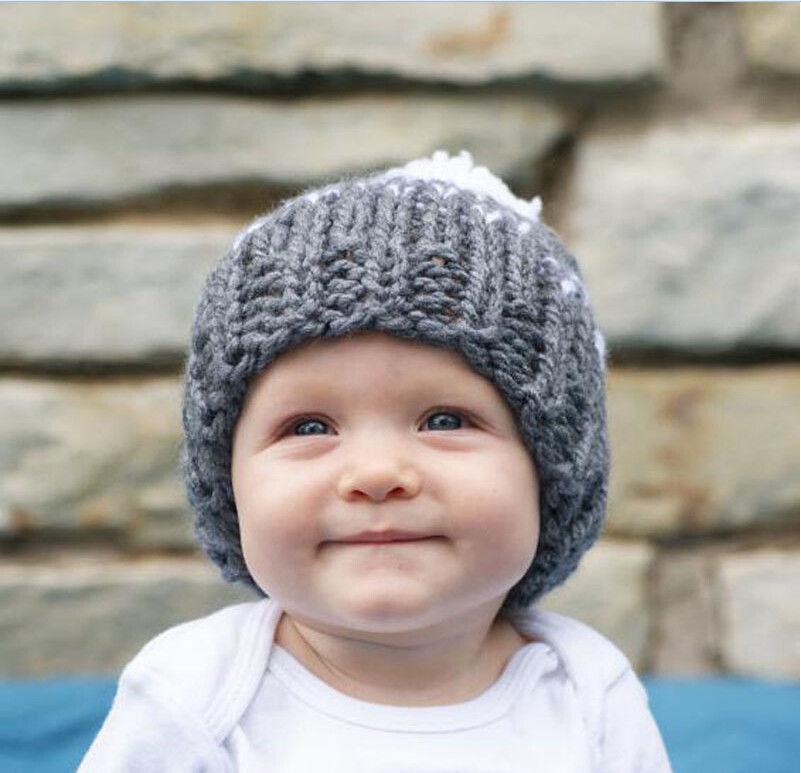 2017 Gloednieuwe 2 Stks Ouder Kind Winter Warm Muts Familie Haak Fur