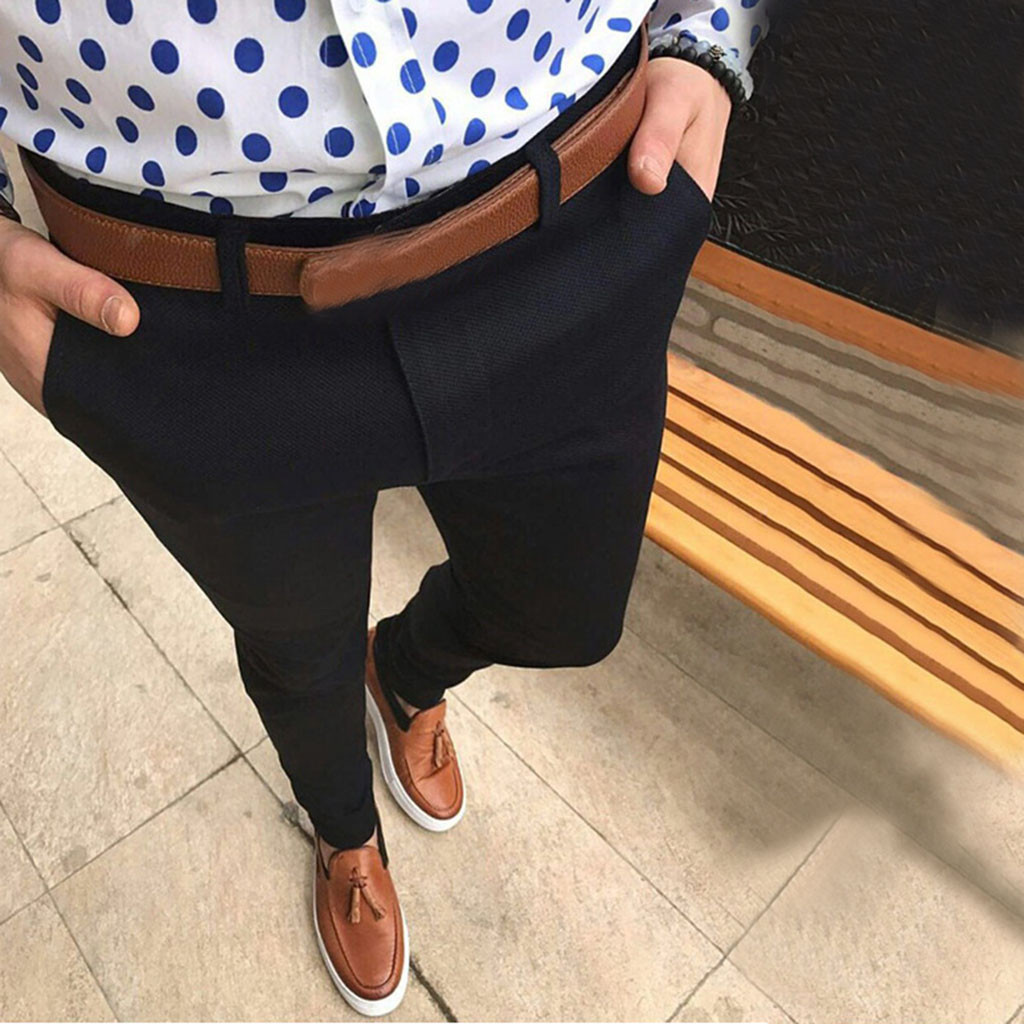Suit Pants Size-Trousers Asian Slim-Fit Business Men Formal Casual Summer Thin Wedding-Bridegroom