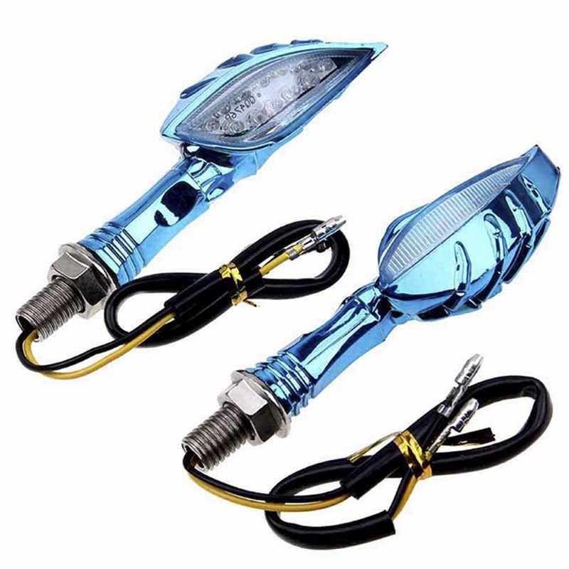 Sinal de seta de led para motocicleta, luz de led, luzes traseiras, indicadores para moto, motocicleta, acessórios, 1 peça