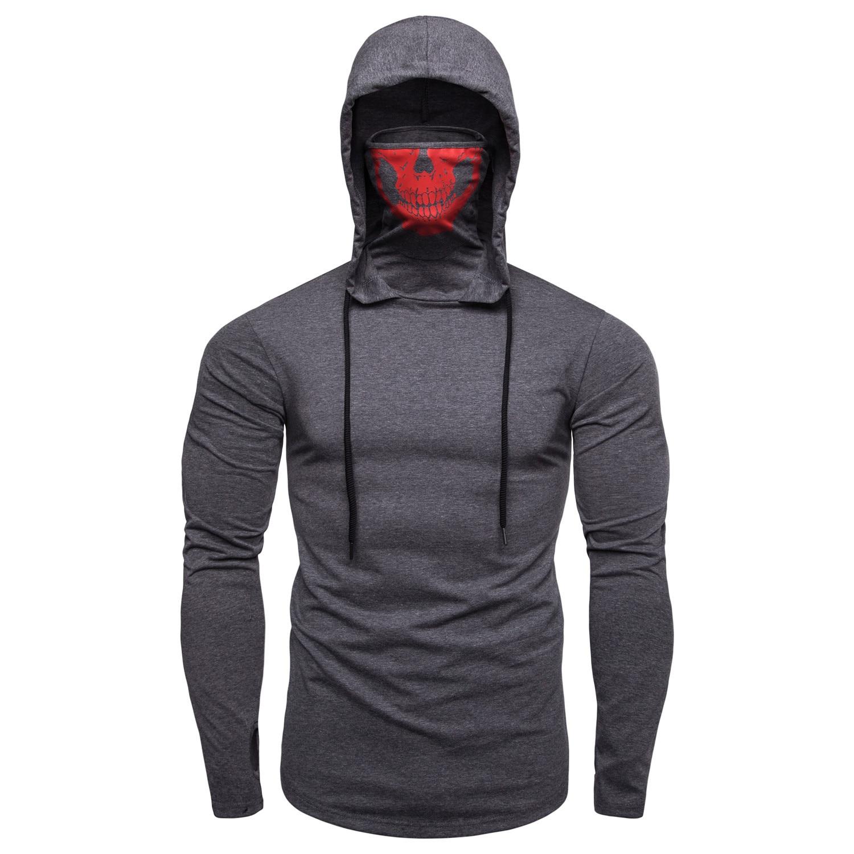 2020 manga longa hoodies de fitness dos homens outono fino moletom masculino sporting ajuste fino streetwear sólido pulôver rua hoodie branco