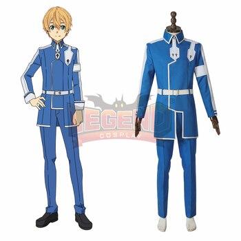 c38c63508 Cosplaylegend Anime SAO espada arte Online Alicization Eugeo Cosplay traje  de halloween para adultos de