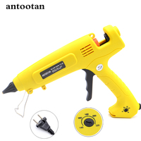 EU Plug300W Hot Melt Glue Gun Smart Temperature Control Professional Copper Nozzle 110V 220V Heater