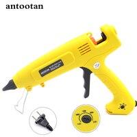 EU Plug300W Hot Melt Glue Gun Smart Temperature Control Professional Copper Nozzle 110V 220V Heater