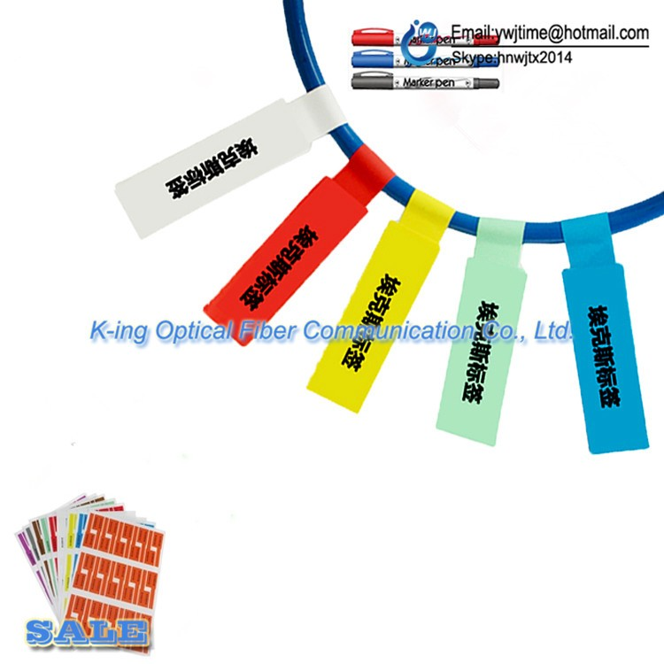 Image 4 - FTTH Fiber Optic Tool Network Cable Labels Sticker 900 Pieces 30 PCS A4 Size Color Blank Label Waterproof Tearproof oilproofFiber Optic Equipments   -