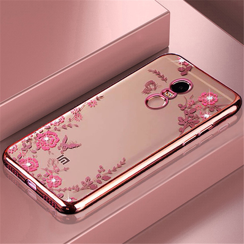 Diamond-Cover Phone-Cases Coque A2lite Redmi Xiaomi Mi5x A1 Soft-Silicone Note6 For F1