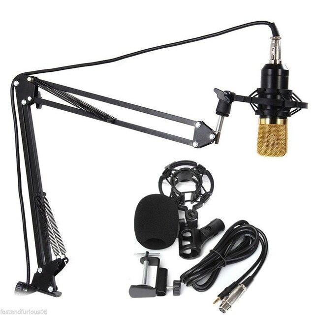 БМ-700 Микрофон NB-35 Микрофон Стенд профессиональный конденсаторный USB Система для Караоке Усилитель Компьютер ноутбук гитара
