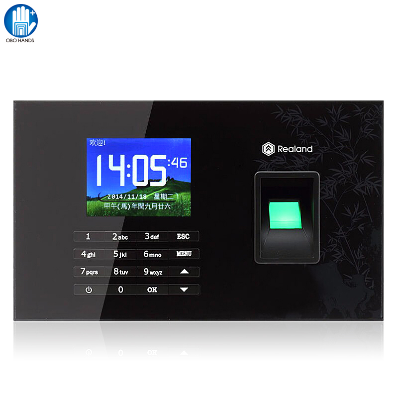 A-C051 TCP/IP Biometric Fingerprint Recorder Attendance Employee Network Punch Sign Machine/ Attendance Clock biometric fingerprint access controller tcp ip fingerprint door access control reader