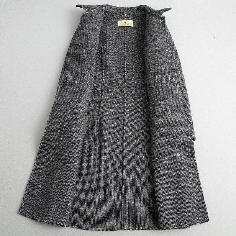 Automne Black White Vêtements Manteaux En Coréenne Laine Veste Vintage 2018 De Face My896 Double Hiver Feminino Longue Manteau Casaco Femmes HCx0AnUq