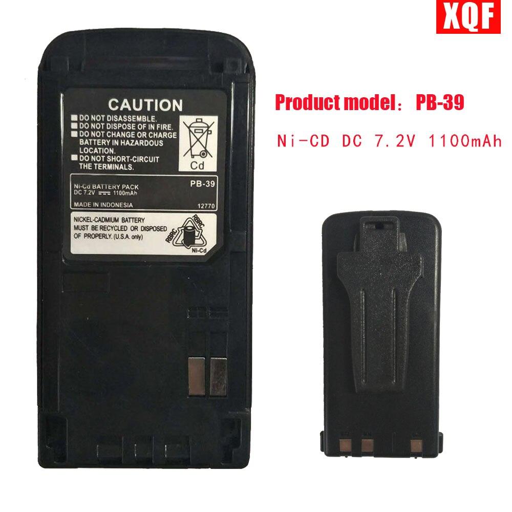 XQF PB-39/PB-39H Ni-CD DC 7,2 V 1100 mAh Batterie für KENWOOD Radios TH-D7A TH-D7E TH-G71A TH-G71E