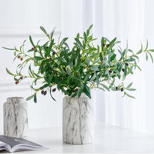 Artificial Leaves Simulation Plant Olive Home Decoration Fake Grass for home party wedding hotel store A piece