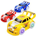 Kids Children Boys Electric Toy Flashing Racing Car With Music&Light Gift