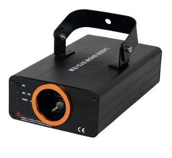 Luz láser verde de 30mW, 532nm, sonido, audio de control automático, efectos...