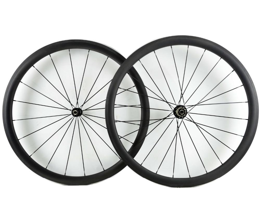 1400g Asymmetric 38mm depth Urltra Light road bike carbon wheels clincher carbon wheelset with pillar 1420