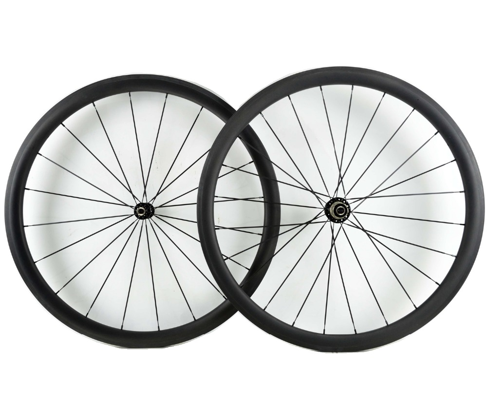 1400g! Asymmetric 38mm depth Urltra-Light road bike carbon wheels clincher carbon wheelset with pillar 1420 spoke 511/522 hub