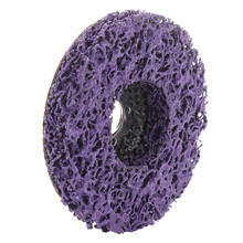 Poly Strip Disc Wheel Wood Metal Paint Rust Removal Clean Grinding Abrasive Wheels 100*16mm For Angle Grinder Mayitr