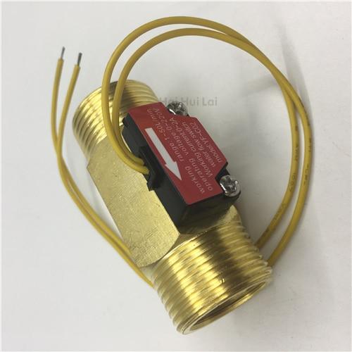 YF-C02 Brass flow switch magnetic reed switch (5)