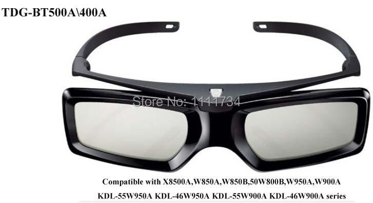 Free shipping Genuine TDG-BT500A TDG-BT400A <font><b>Active</b></font> 3D <font><b>Glasses</b></font> <font><b>For</b></font> <font><b>Sony</b></font> TV