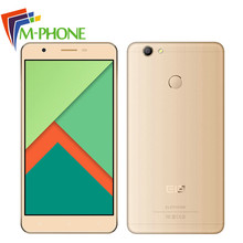 Elephone C1X Mobile Phone 5.5 Inch 4G MTK6737 Quad Core Android 6.0 Cellphone 2G + 16G ROM 2500mAh Unlock Fingerprint Smartphone