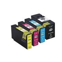 Ylc 1 conjunto 4 cores 1200xl cartucho de tinta compatível para PGI 1200 para canon pixma mb2020 mb2320 impressora|Cartuchos de tinta| |  -