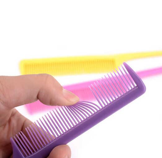 1 adet Yeni Saç Sivri Kuyruk Tarak Güzel Tipi Klip Tasarım Salon Araçları Kuaför keratin tedavisi Şekillendirme