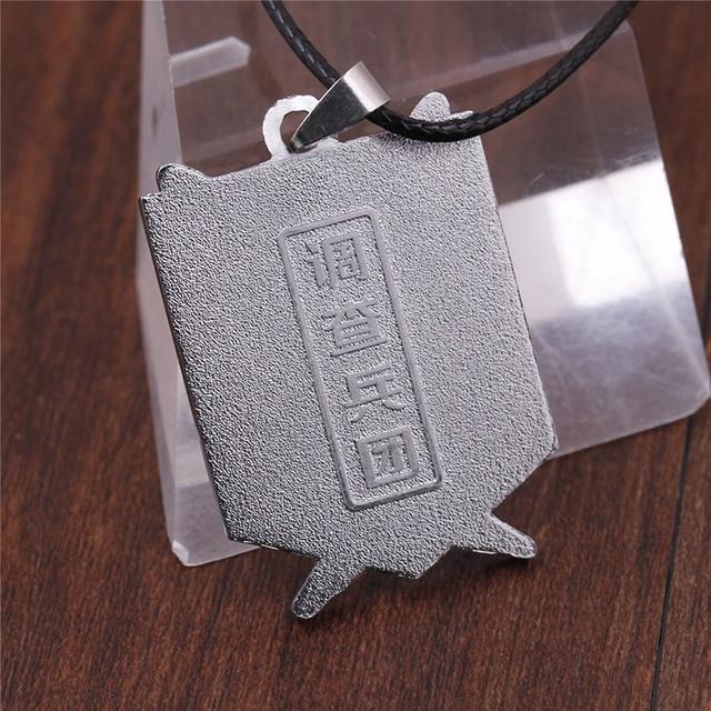 Attack On Titan Metal Pendant Necklace Kids Toys