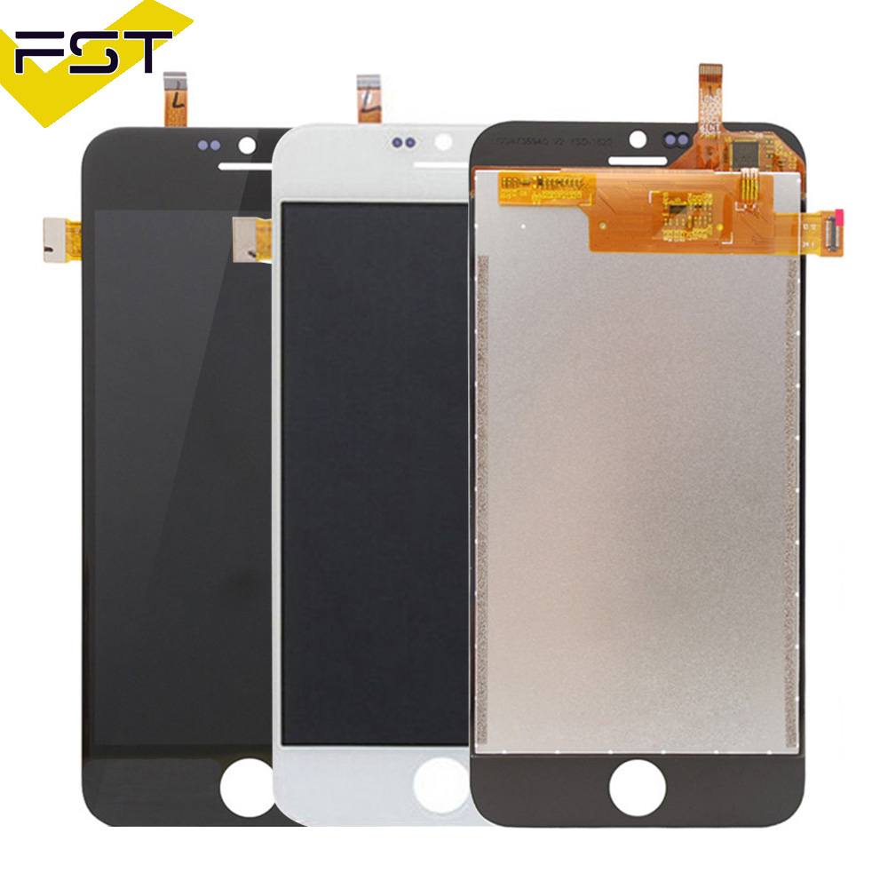 Black/White LCD Display For Blackview Ultra A6 LCD Display with Touch Screen Assembly Touch Screen Panel For Blackview A6
