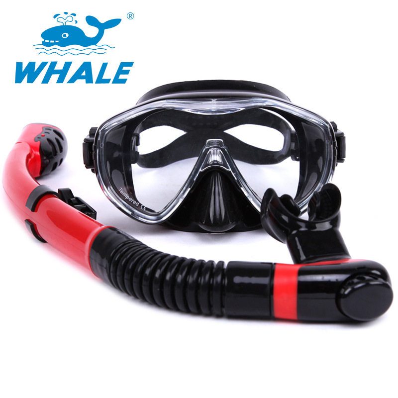 Hot sale Water Sport Training Diving glasses Anti-Fog Snorkeling Equipment Breathing tube Silicone Scuba Diving Mask Snorkel set 2016 newest elevation training mask 2 0 high altitude fitness outdoor sport 2 0 training mask	supplies equipment
