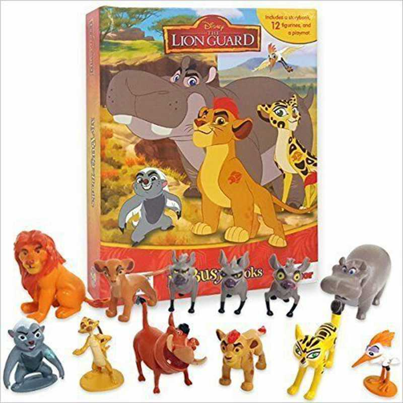 12 pcs The Lion Guard De Lion King Prins Kion Pumba Simon Figuur Speelgoed Pop Brinquedos Figurals Collectie Model Gift