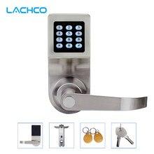 LACHCO Anahtarsız Dijital Kilit Tuş Takımı Şifre Kodu Bahar Cıvata Erişim Elektronik Kapı Kilitleri L16086BS