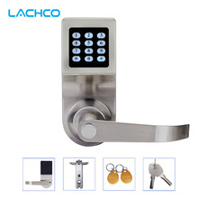 LACHCO Keyless Digital Lock Keypad Password Code Spring Bolt Access Electronic Door Locks L16086BS