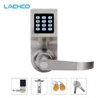 LACHCO Keyless Digital Lock Keypad Password Code Spring Bolt Access Electronic Door Locks L16086BS