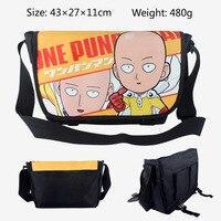 Anime One Punch Man Messenger Bag School Bag For Students Kids Children Teenager Canvas Bags 43