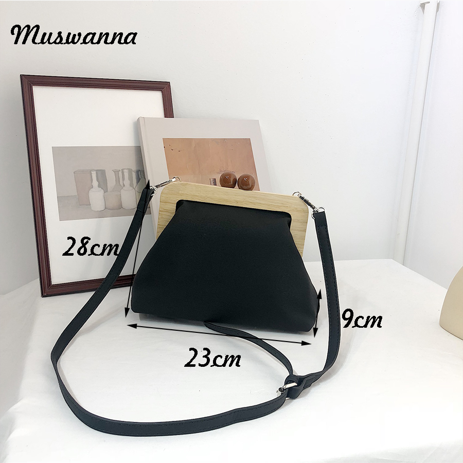 Retro Pu Soft Leather Clip Bags Luxury Women Bags Female Shoulder Messenger Bag Crossbody bag Clutch Purse Bolso femenino 2019 in Shoulder Bags from Luggage Bags