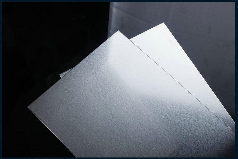 5*200*250mm Placa de Alumínio Folha De Alumínio