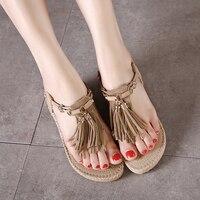 Flat Sandals Women Shoes Sandals Comfort Sandals Summer Flip Flops 2018 Fashion High Quality Wedges Gladiator