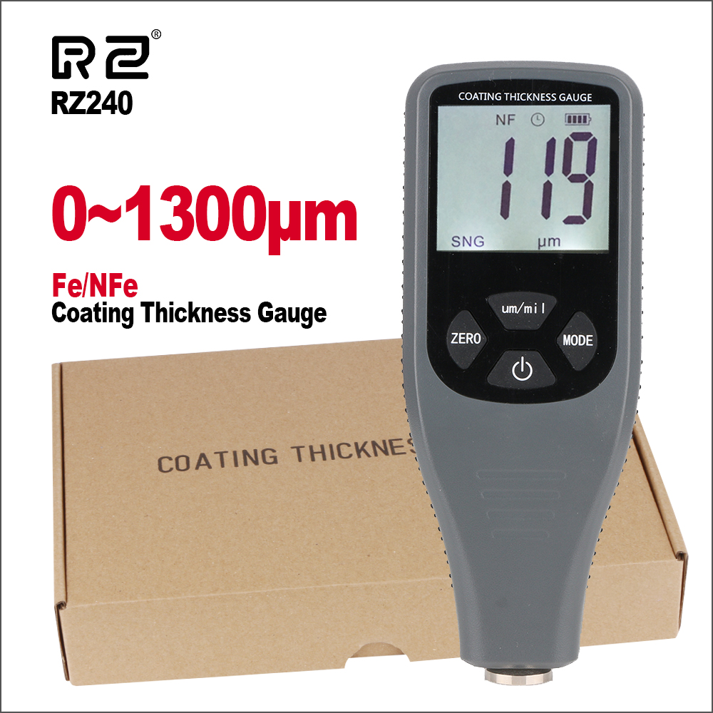 RZ Width Measuring Instruments Thickness Gauges Film Paint Thickness Gauge Tester Car Paint Digital Coating Thickness GaugesRZ Width Measuring Instruments Thickness Gauges Film Paint Thickness Gauge Tester Car Paint Digital Coating Thickness Gauges