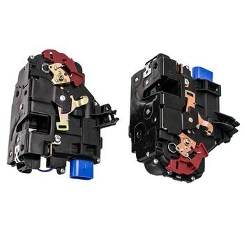 Front Left + Right Door Lock Actuator Mechanism For VW Golf MK5 2003-2009 Jetta Mk3 Seat Toledo Mk3 TFF 3D2837015 3D1837016AB