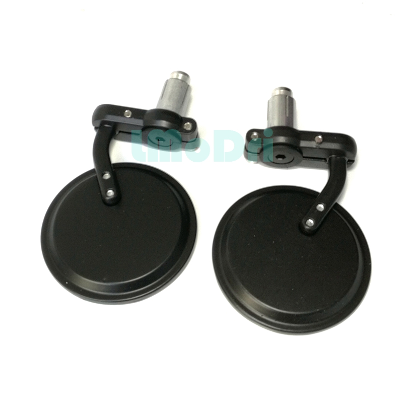 2pcs/Pair Motorcycle Rear View Mirrors Round 7/8