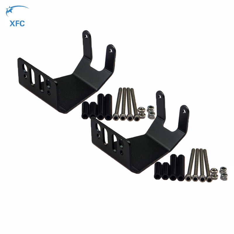 2Pcs Alloy Axle Guard Skid Platte Assembly For RC 1//10 Axial SCX10 Rock Crawler